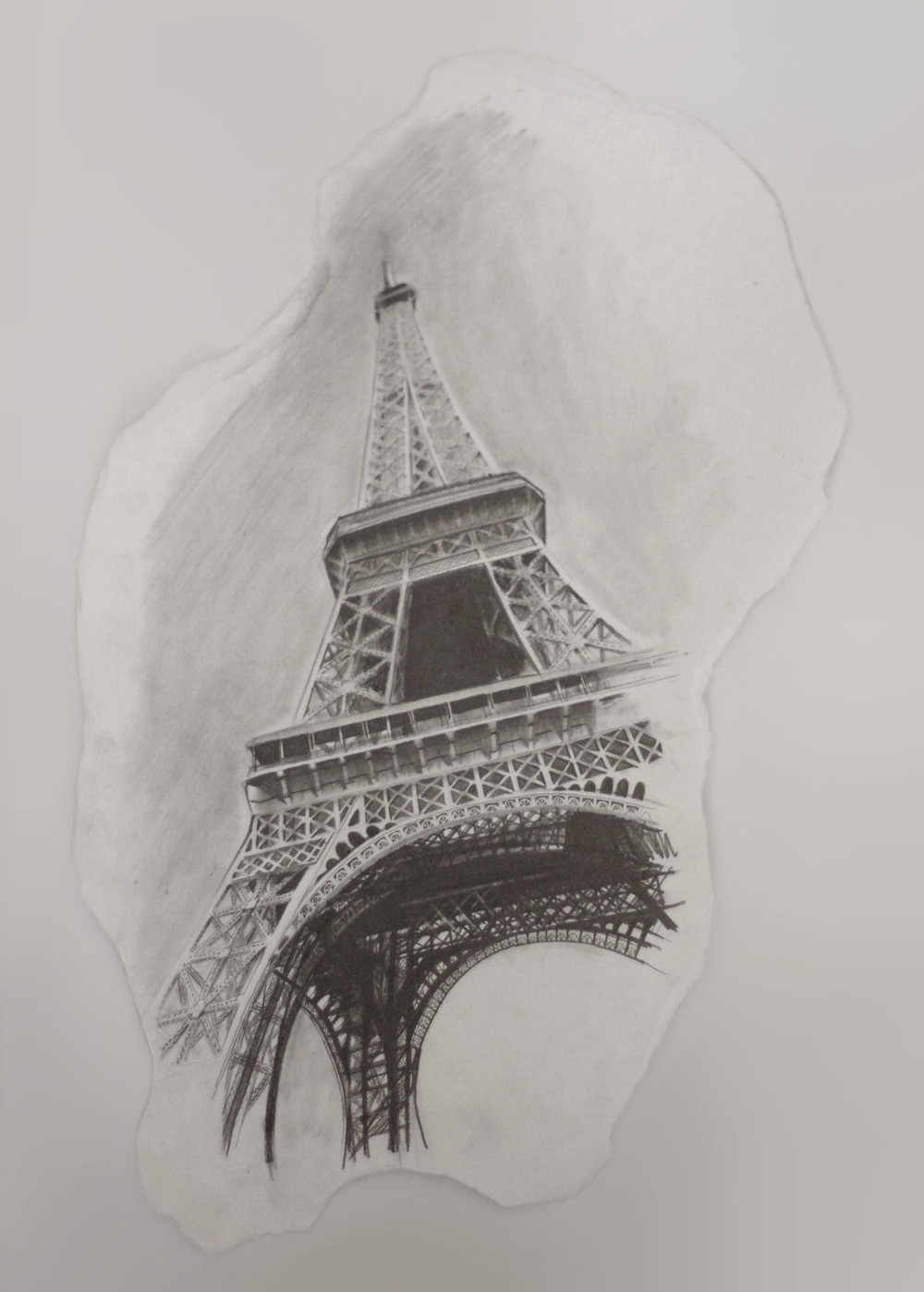 エッフェル塔の絵